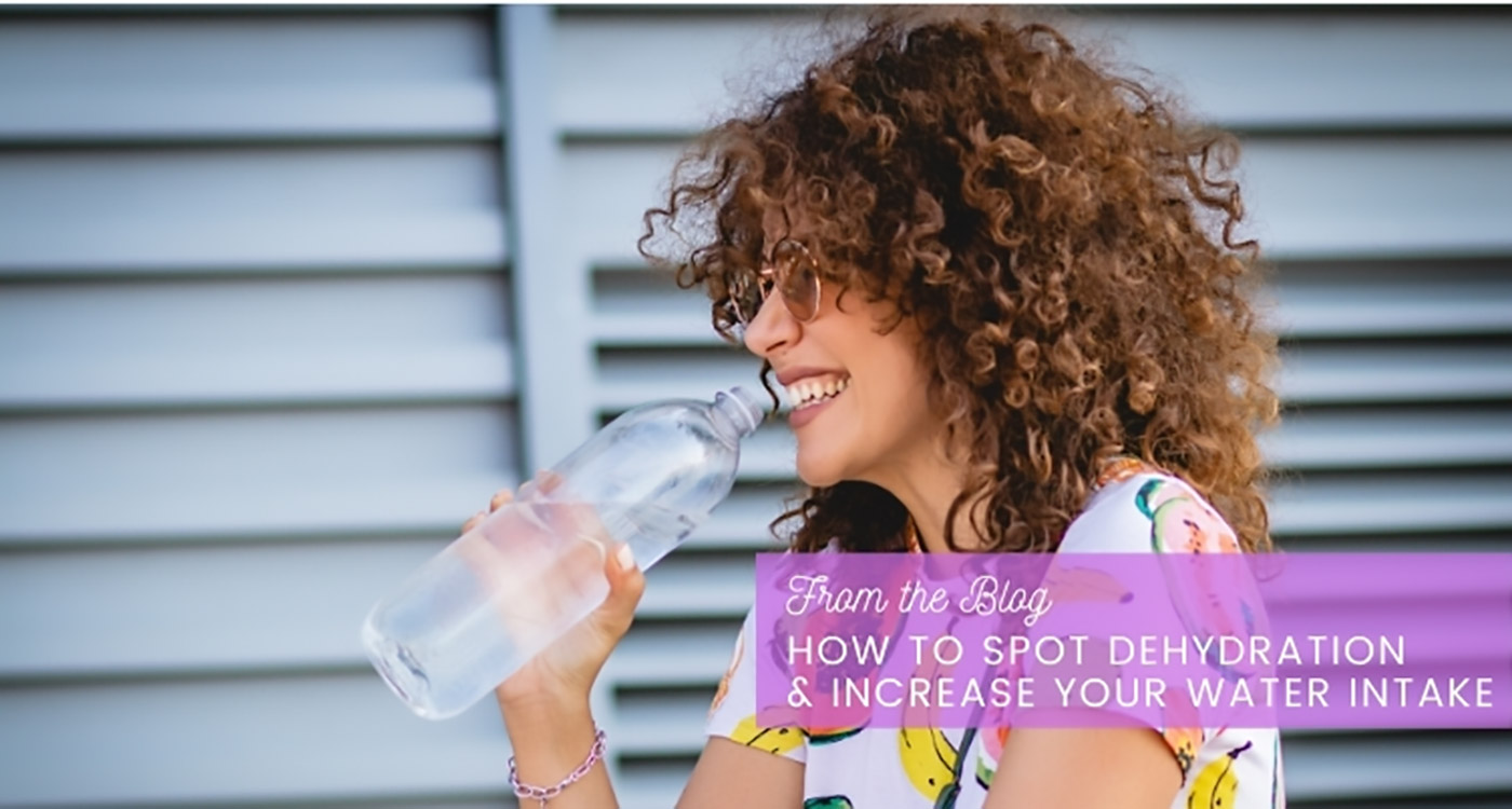 how to spot dehydration and increase your water intake