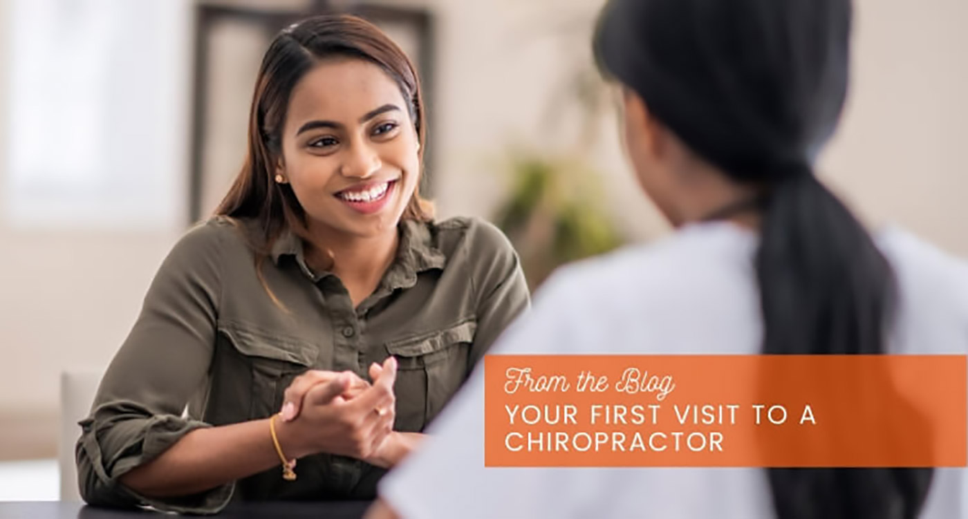 your first visit to a chiropractor